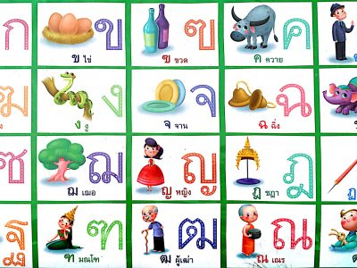 alphabets-thaïlandais